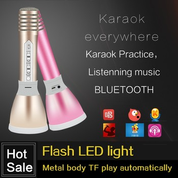 Top level best sell latest microphone bluetooth with ktv karaoke microphone stand professional