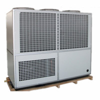 Industrial air cooled water chiller system
