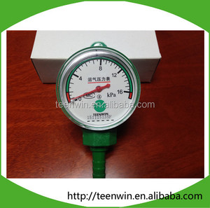 Teenwin best price biogas/natural gas pressure gauge