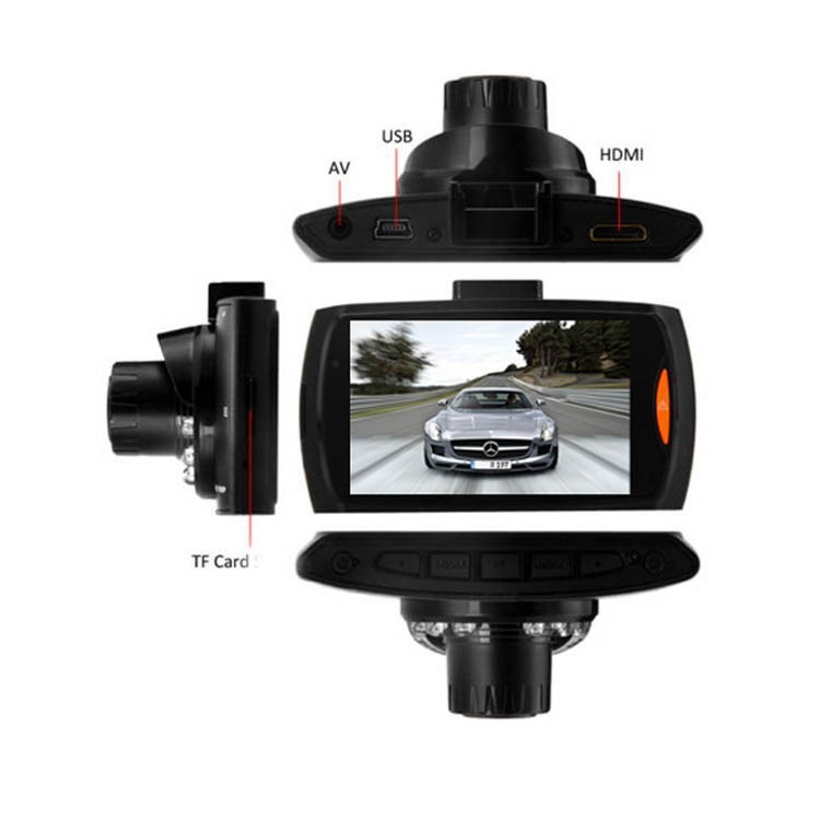 G30 Mini Araba DVR Kamera Dashcam Tam HD 1080 p Video ile Gece Görüş
