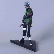 (Hot selling) Hoge Kwaliteit Cartoon <span class=keywords><strong>Naruto</strong></span> Action Figure Kakashi Ninja Model Anime PVC Action Figure Voor Auto decoratie