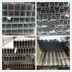 Discount price extrusion aluminium profile for curtain wall glass / stone / ACP