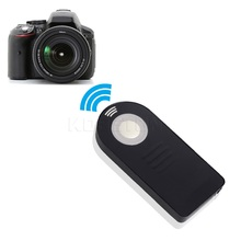 AP 1PCS Digital Bluetooth IR Wireless Infrared Shutter Release Remote Control for Nikon DSLR Camera Black Color