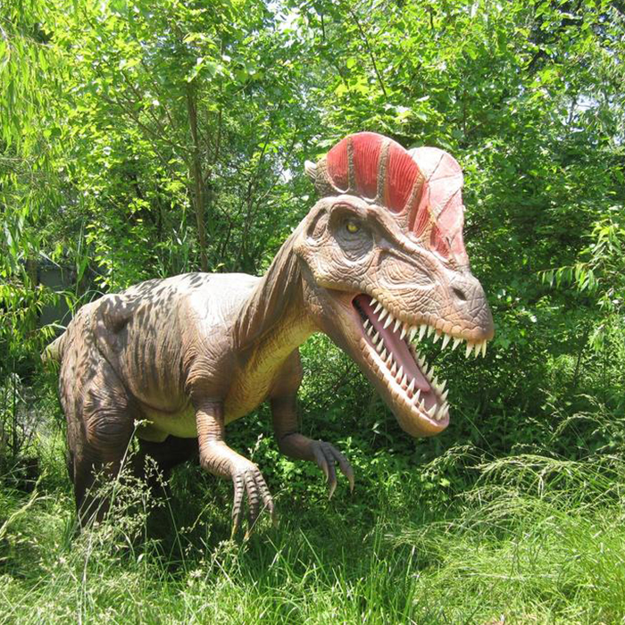 High Quality 3d Movies Life-size Animatronic Dinosaur For Theme Park