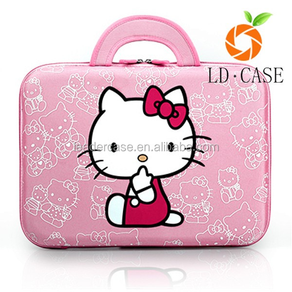 4a70431663 Lovely Hello Kitty Printed Antifriction Cut Style Laptop Sleeve Bags ...