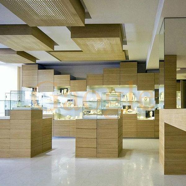 High Quality Showroom Designs Counter Display Jewellery Showcase ...