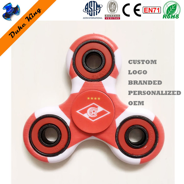 Christmas Gift Customized Branded Personalized OEM Hand Finger Spinner Toys for Kids Cheap Promotional Fidget Spinner