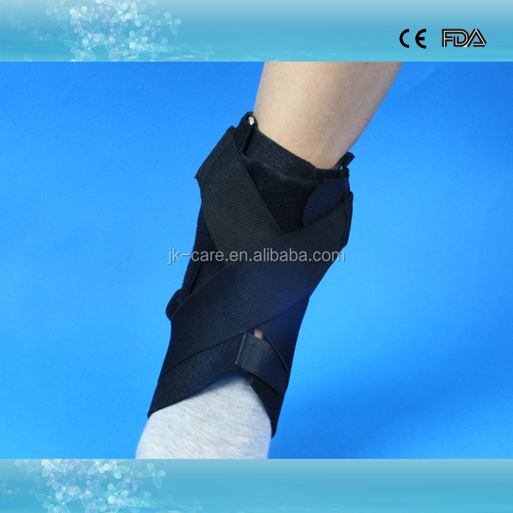 Professional medical ankle brace ankle support shoes with extra strap