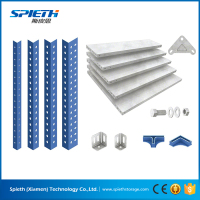 Custom-made Slotted Angle Shelf Metal Shelving System