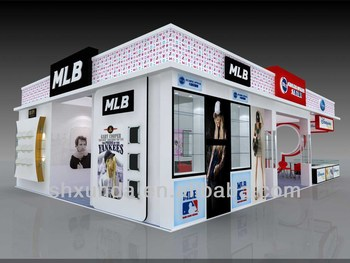 Exhibition Stall Quotation : Glass trade show stand exhibition stall pavilion kiosk design