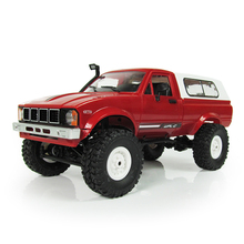 WPL C24 1:16 <span class=keywords><strong>Mini</strong></span> Off-Road Truk <span class=keywords><strong>RC</strong></span> 2.4G Remote Control <span class=keywords><strong>Mini</strong></span> Kendaraan Rtr/Kit