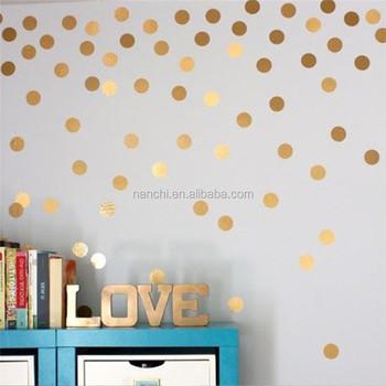 Bricolage Points Enfants Chambre Stickers Muraux Creatif Simple