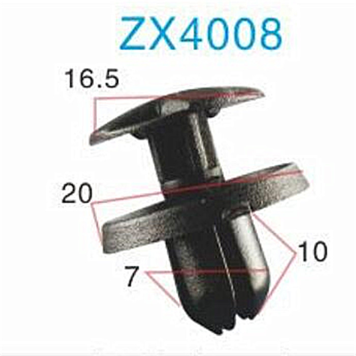 Factory supply universal car fastener clip/automotive plastic clips and fasteners accessory/car clip small