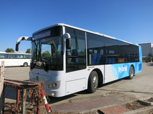 electric shuttle mini bus SLK6109USCHE
