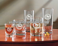optic crystal glass barware drinkware(R-1447
