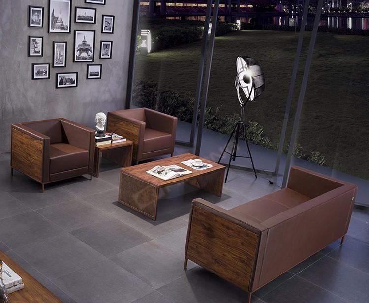 Ufficio Divano Nero : Modern luxury nuovo modello nero bianco colorato in legno e pelle