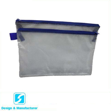 Simple 방수 zipper 플라스틱 학생 연필 <span class=keywords><strong>문서</strong></span> bag
