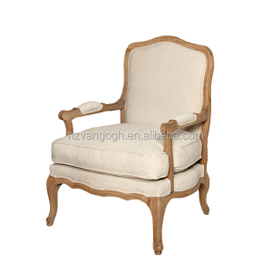 french antique wooden frame armchair, antique reproduction armchairs french furniture