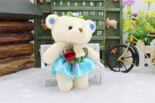 Прекрасный мини медведь мягкая плюшевая игрушка телефон Шарм мягкие маленький игрушка Рекламные подарок Opp хлопок Медведь кукла для 12 см дл...(Китай)