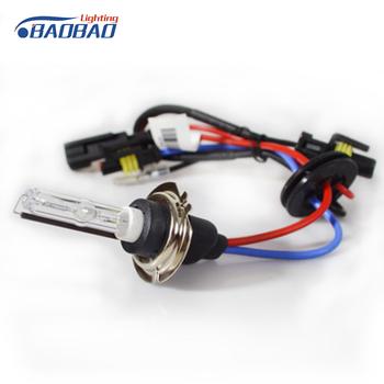 Twin Lampu H7 6000 K Lampu Kepala Xenon Hid Konversi Kit Headlight on