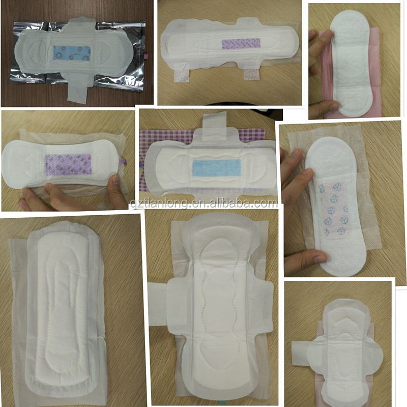 Disposable sanitary pad for lady