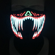 Led sound aktiviert <span class=keywords><strong>maske</strong></span> licht up <span class=keywords><strong>halloween</strong></span> <span class=keywords><strong>maske</strong></span>