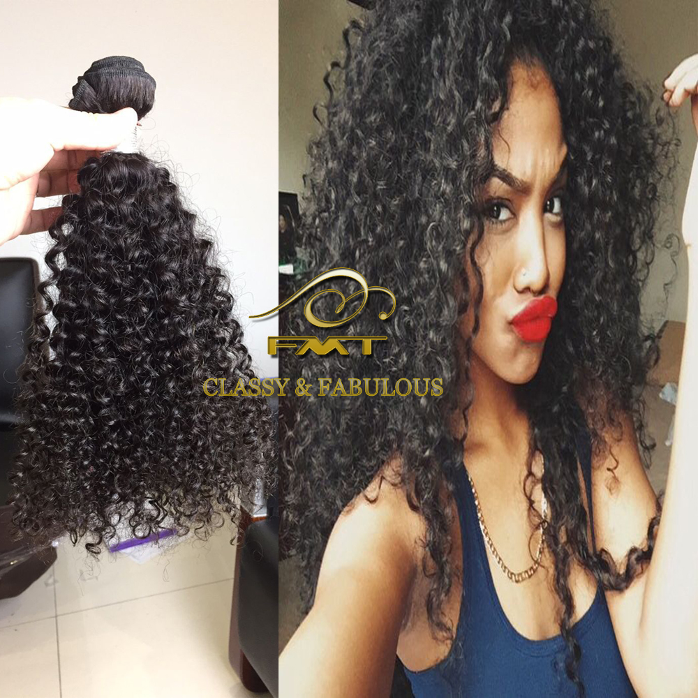 100 percent raw virgin brazilian hair bundles natural curly for sale