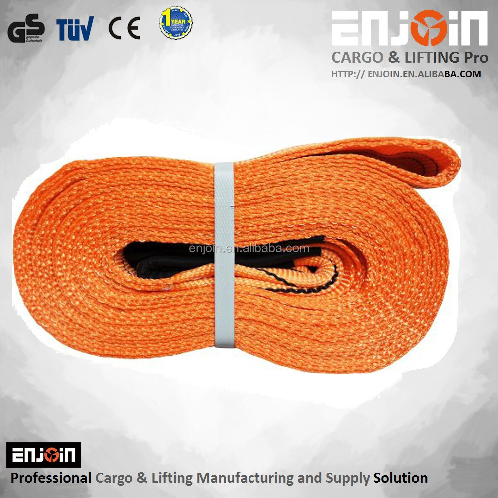 ENJOIN Anchor Vehicle Strap Winch Extension 4WD Recovery Strap