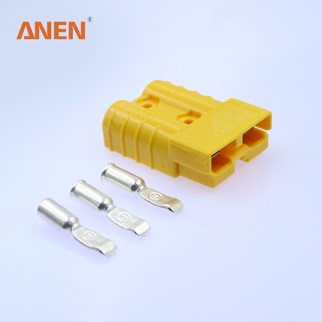 50amp Anen 12v Dc Power Connector /charging Connector/automotive Wiring on
