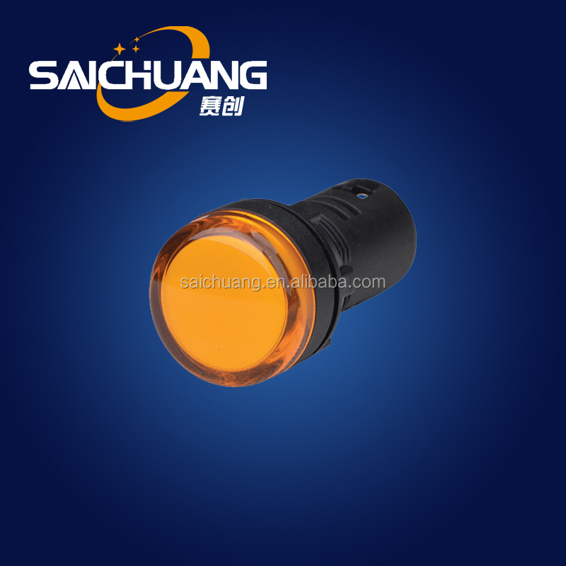 Selected Material Indicator Lamp 230v Apply For Electric Cabinet ...