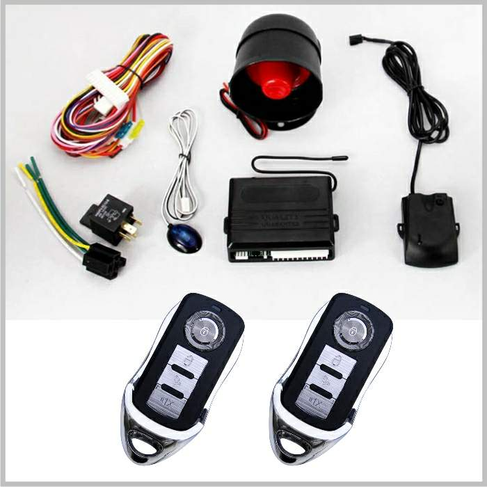 Lixing wholesale OEM Beret spy remote control burglar alarm system fwith central door lock