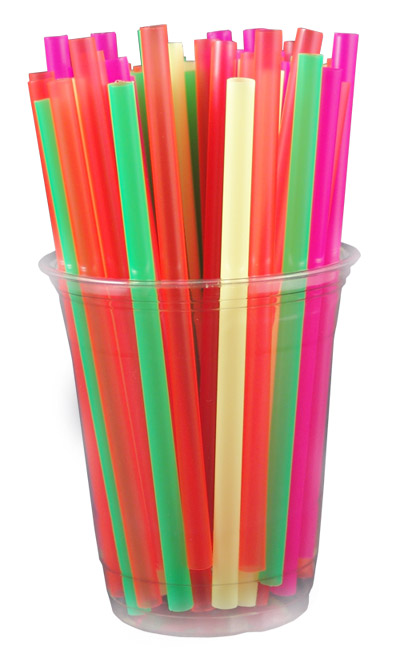 Colorful Long Drinking Straws