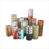 custom Food Packaging foil Laminated plastic seal printing automatic packaging film roll