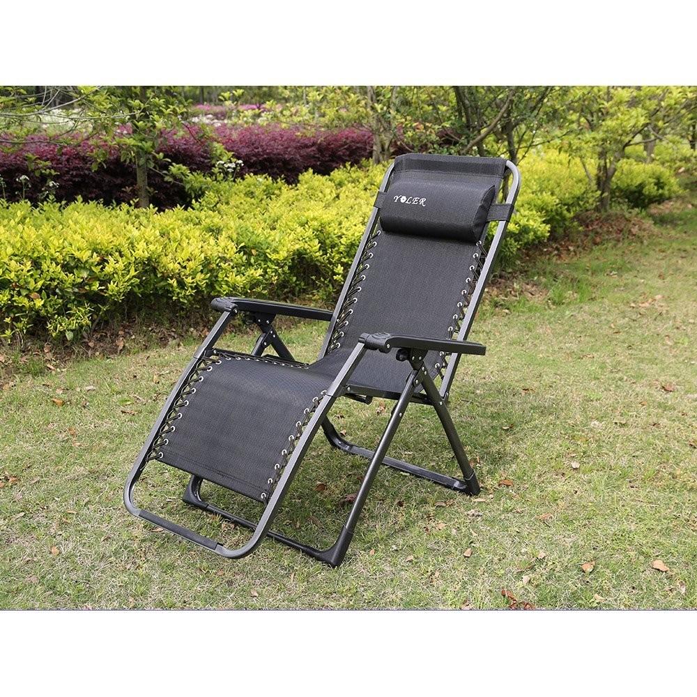 Yoler Zero Gravity Easy Packing Camping Folding Chair