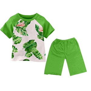 Hot Sale High Quality Little Boy Clothes Sets Summer Kids Short 2PCS Clothing Outfits city boy clothing