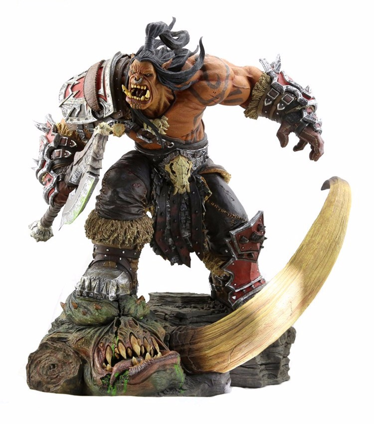 World Of Warcraft Hellscream Pvc Action Figures