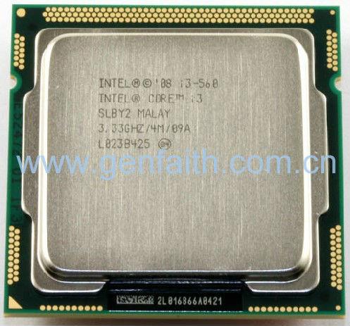 Core I3-560 Processor Slby2
