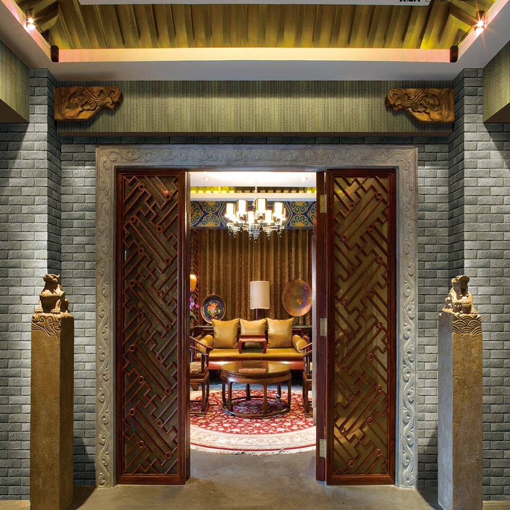 lobby background bamboo decoration wall tile - buy wall tile