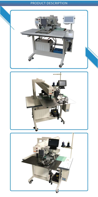 Industrielle machine à coudre de poche poche enveloppe faisant la machine