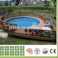 2016 Outdoor Waterproof Wpc Fence/outdoor wpc fence/outdoor fence