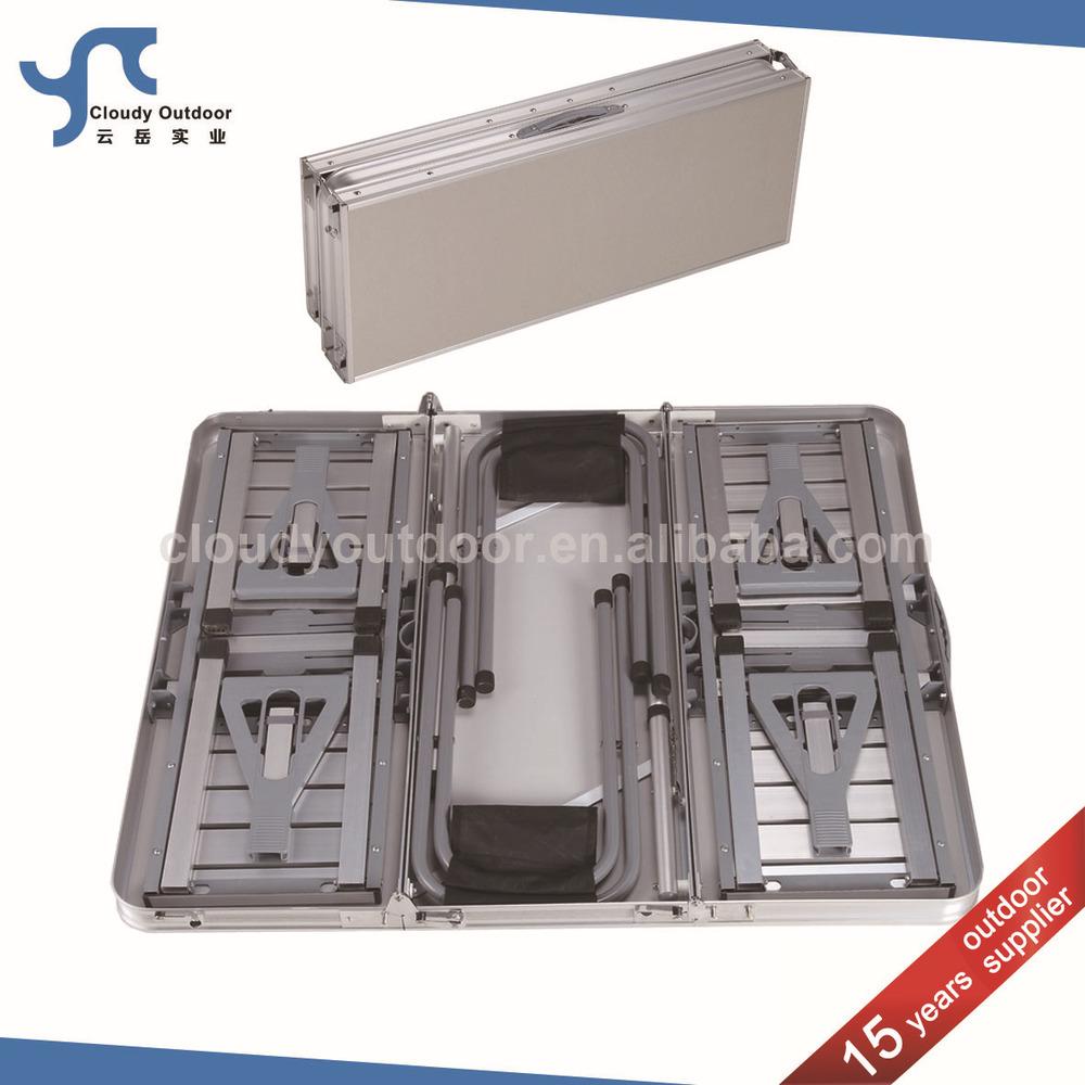 Outdoor Aluminium Koffer Goedkope Opvouwbare Picknicktafel Stoel Set   Buy Product on Alibaba com