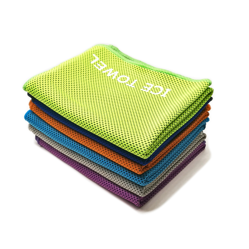 Sports Ice Towel: Custom Logo Sports Cooling Ice Towel From China Supplier