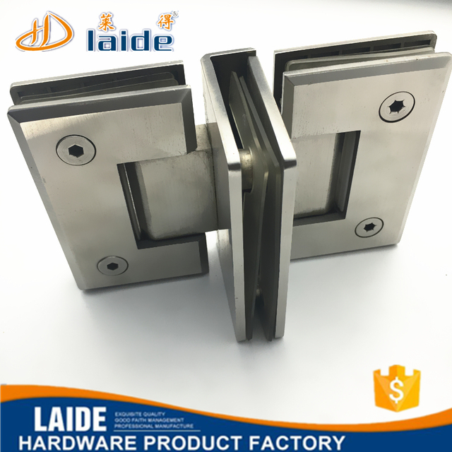 Stainless Steel Bevel Edge Glass Door Hinge Bracket For Shower