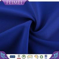2016 Feimei Knitting 92%Poly 8%Span Twist Ponte Roma Fabric With High Quality