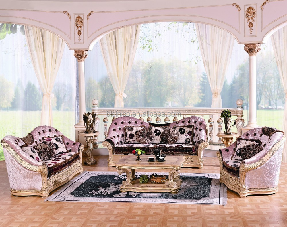 Alibaba & Luxury Classic European Style Living Room Set/traditional Victorian Style Palace Sofa Set/queen Upholstered Fabric Tufted Sofa - Buy Queen Victorian ...