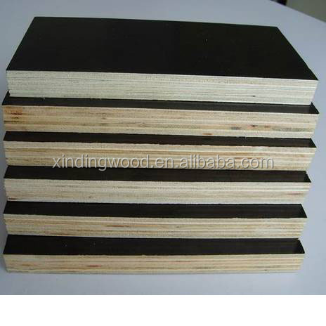 high quality 1220x2440mm film face waterproof plywood Flim faced Plywood from linyi