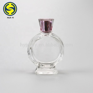 90ml china pyramid shaped perfume glass bottle arabic perfume bottles