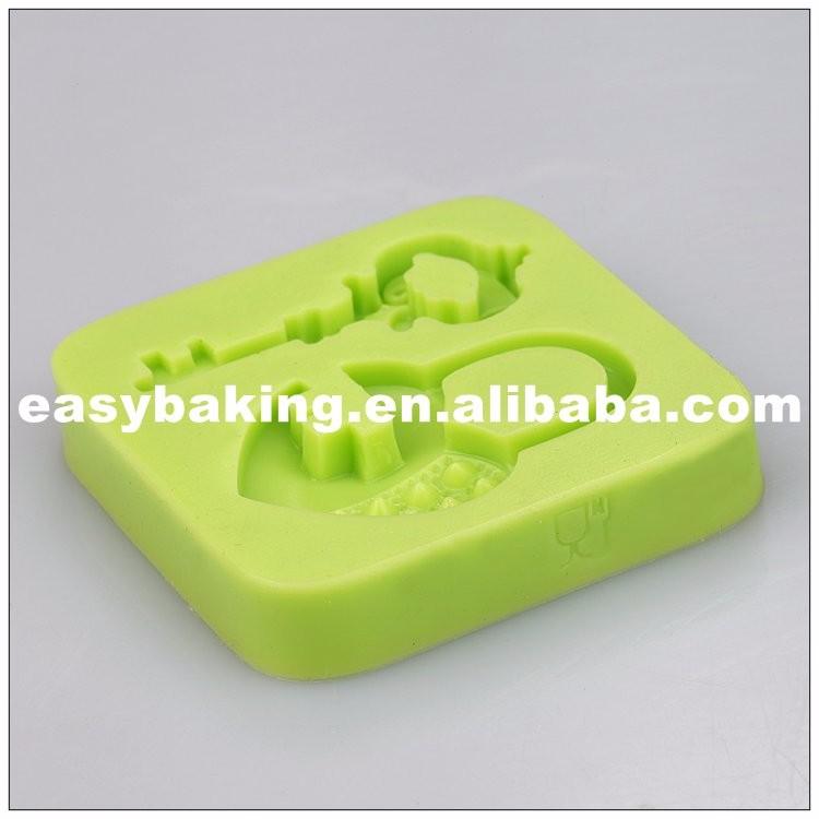 keys & love Lock silicone mold.jpg