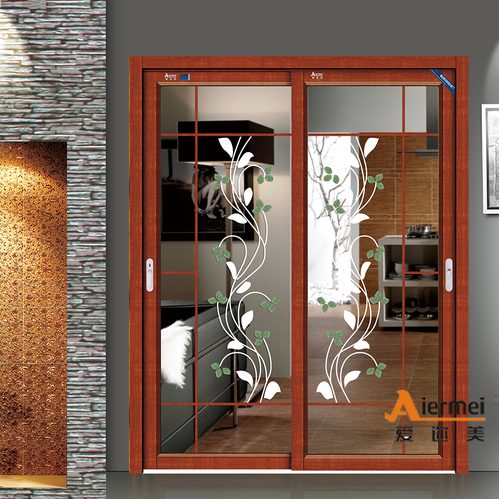 Main door design glass door double leaf of euro door buy for Kitchen entrance door designs