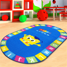 Customized Printed Children Carpet Eco-Friendly Baby Play Kids Mat